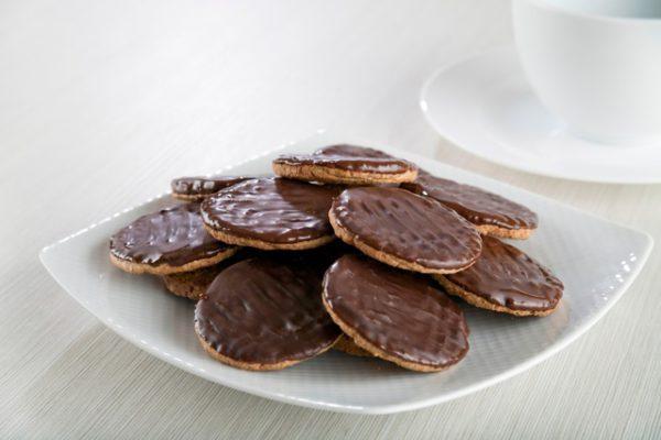 Печенье с шоколадной глазурью /HP Chocolate biscuits 7 саше