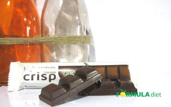 Батончик с вкусом хрустящего шоколада/ HP DARK CHOCOLATE WITH CRISPS RP