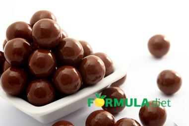 шоколадні білкові кульки