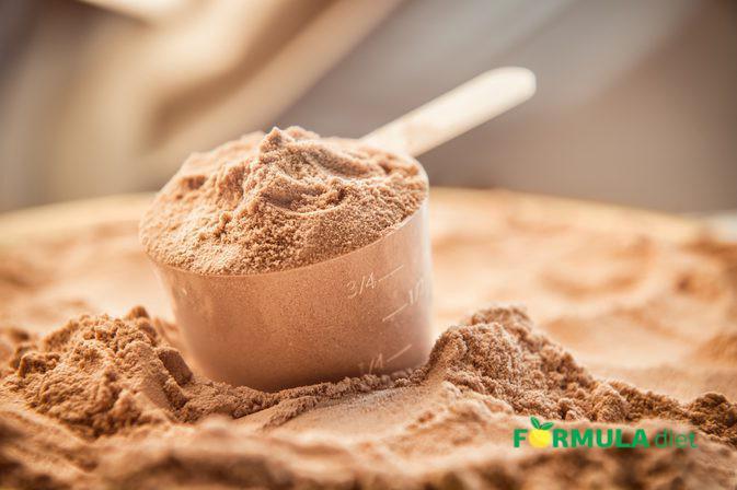 сухая белковая смесь для приготовления питания