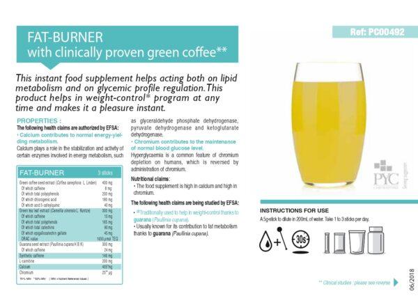 fat burner - food supplement Жиросжигатель состав, инструкция